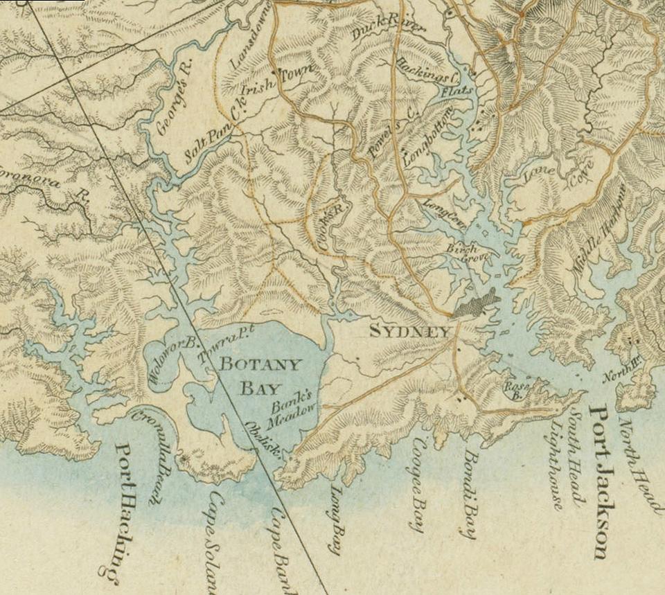 Znalezione obrazy dla zapytania port jackson botany bay