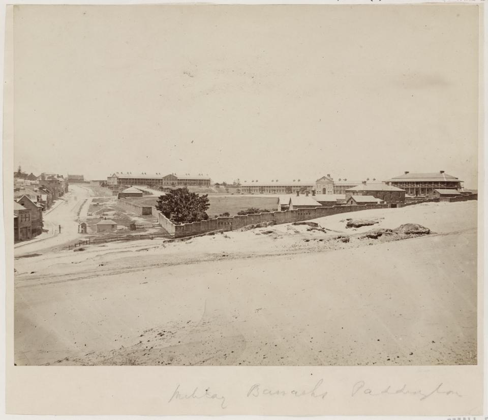 An 1890s Paddington Terrace Transformation: Victoria Barracks, Paddington 1871