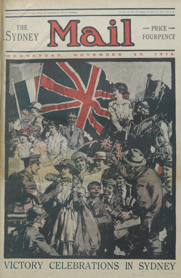 World war 1 dates in Sydney