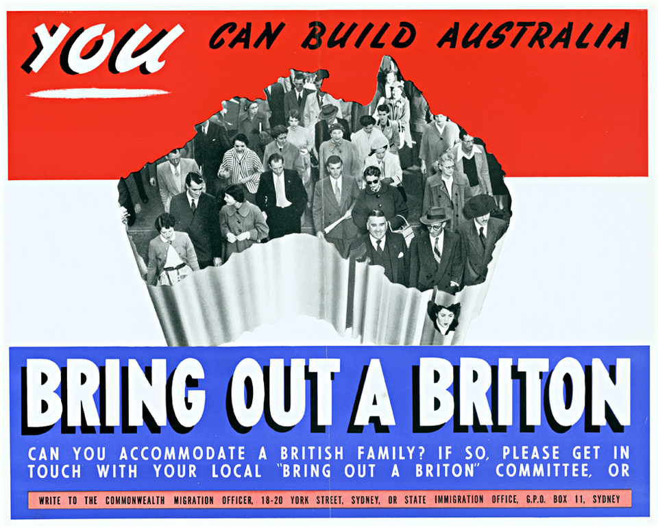 Bring Out a Briton Bring out a Briton poster 1961 The Dictionary of Sydney