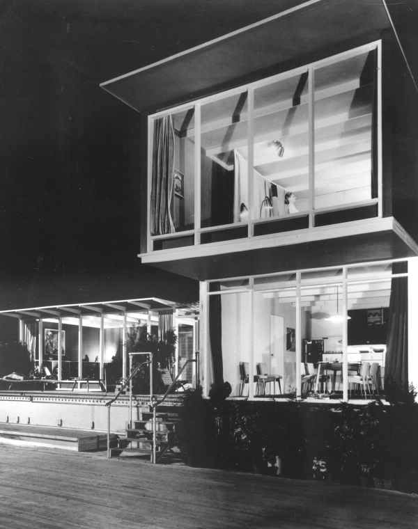 Robin boyd 39 s 39 house of tomorrow 39 in the royal exhibition for Tomorrow s home