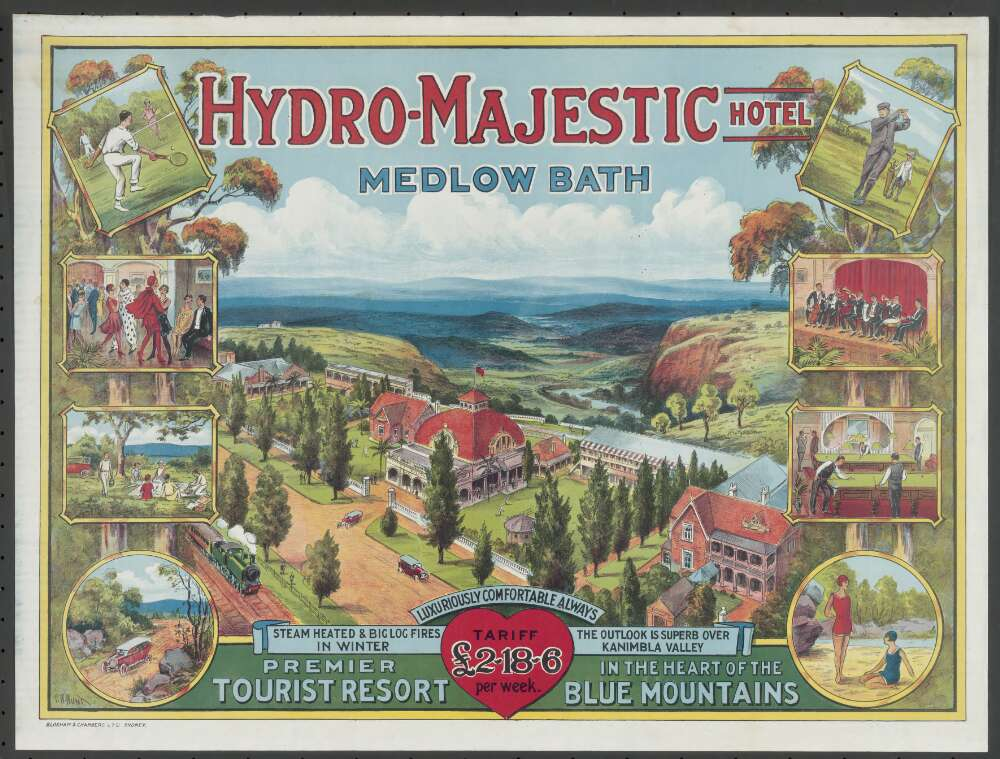 Medlow bath wedding