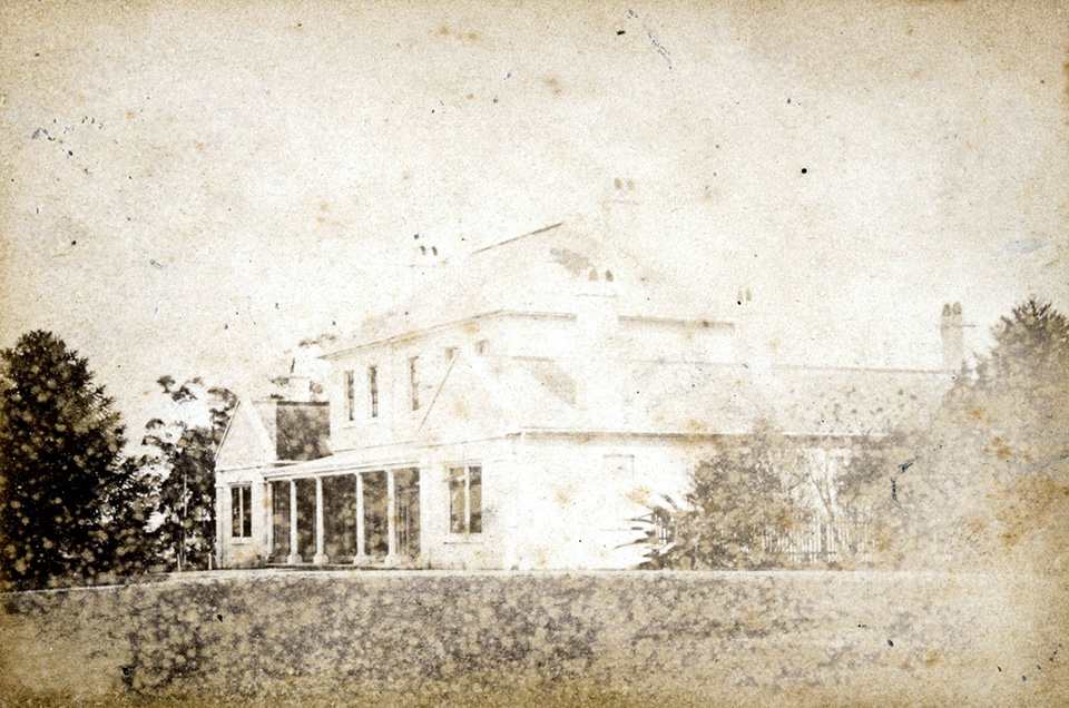 Crows Nest House C1869 The Dictionary Of Sydney