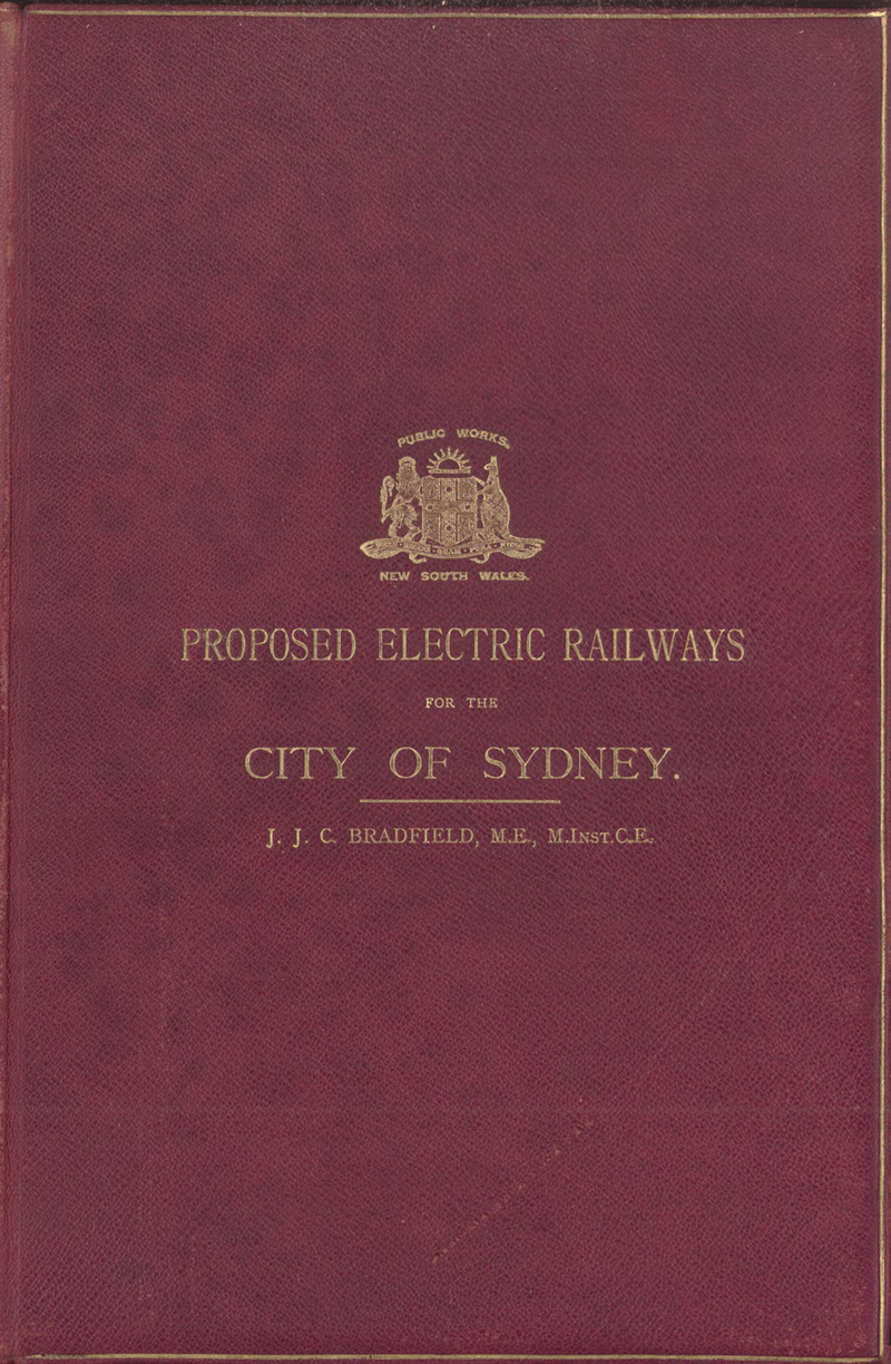 Electrification Of The Sydney Suburban Train Network Taylor Dunn Wiring Diagram Underground Was To Be Electric Remaining System Should Electrified At Same Time In 1915 Bradfield Recommended A Detailed Overall Plan For
