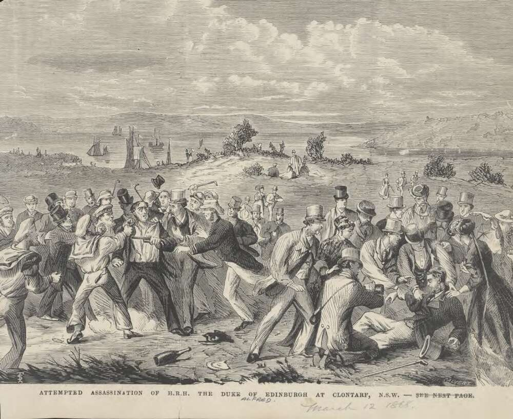 Assassination attempt on Prince Alfred 1868